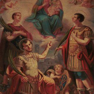 Santos Octavio, Solutor y Adventor, mártires