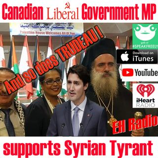 Morning moment IKRA KAHLID Canadian Government MP supports ASSAD and Syria April 26 2018