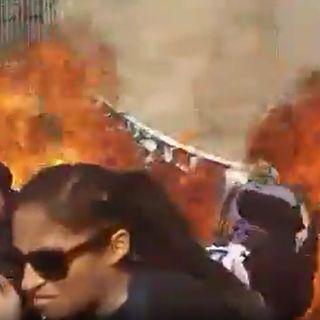 Tres heridas deja explosión de bomba molotov