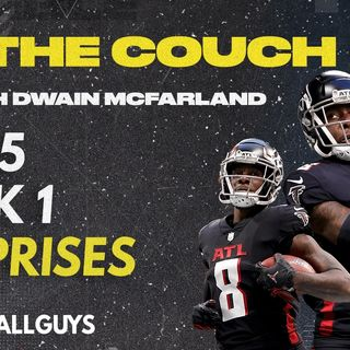 On the Couch with Dwain McFarland - Predicting Week 1 Surprises - Fantasy Football 2021