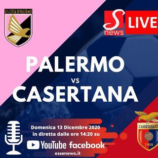 Diretta Lega PRO :::: PALERMO - CASERTANA 2 - 0 ::: Serie C girone C
