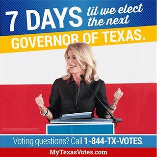 Wendy Davis running for Texas Governor  with Chris Brady Deputy Field Organizer