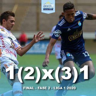 La Cancha: Sporting Cristal 1 (2) - Ayacucho FC 1 (3)