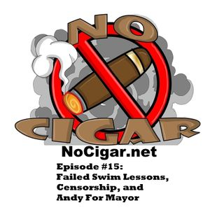 Episode #15: Failed Swim Lessons, Censorship, and Andy For Mayor.