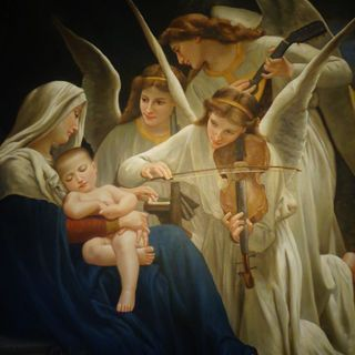 Te diré mi amor... oración para hacer en navidad teniendo al Niño Jesús en brazos.