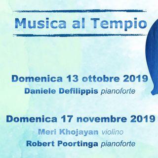 Musica nel tempio valdese di Pinerolo