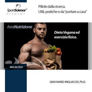 Dieta vegana e sport.