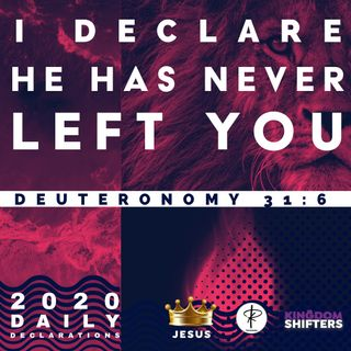 Daily Declaration: He Has Never Left You