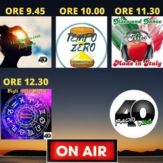 """Radio 40 """"FortyRadioMorning"""" Lunedi Mattina 15-02-2021"""