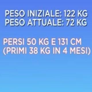 PAOLO FOSCHINO 📝 57 ANNI 🔥 PERSI 50 KG E 131 CM DI CUI I PRIMI 38 KG IN 4 MESI! 💪 VIVERESNELLA