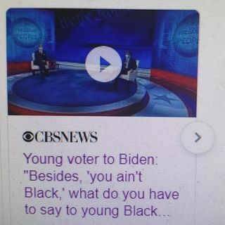 """HAS JOE BIDEN DONE ENOUGH TO WIN THE BLACK VOTE?"""