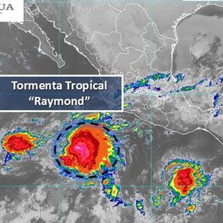 Se forma Tormenta Tropical Raymond en el Pacífico
