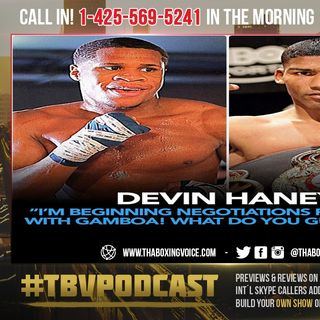 ☎️Devin Haney vs. Yuriorkis Gamboa In The Works😱Statement TIME🤩Or Tank's Leftovers😂