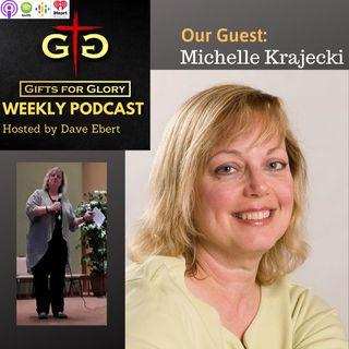 Comedian Michelle Krajecki