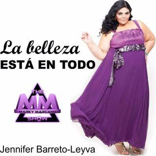 BELLEZA XL MODEL -JENNIFER BARRETO -LEYVA EN ENTREVISTA THEMMSHOW   Po 65