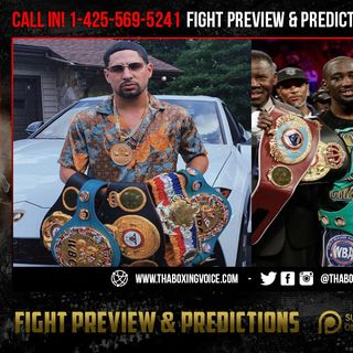 ☎️Angel Garcia Live On Danny Garcia vs Crawford, Spence Jr. and Redkach in WBC Title Eliminator🔥