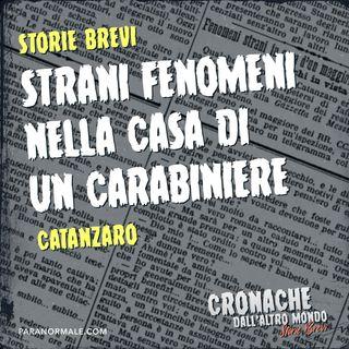 Strani fenomeni nella casa di un carabiniere - Storie Brevi