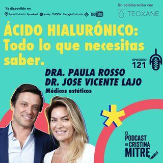 Ácido hialurónico: Todo lo que necesitas saber con la Dra. Paula Rosso y el Dr. Jose Vicente Lajo. Episodio 121