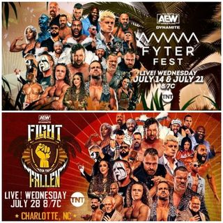 TV Party Tonight: AEW Dynamite - Fyter Fest and Fight for the Fallen 2021