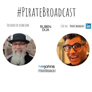 Join Ruben Dua, Dubb Founder on the #PirateBroadcast