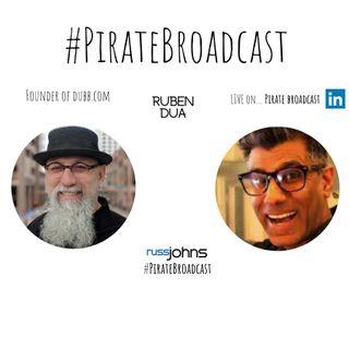 Join Ruben Dua, Dubb Founder on the #PirateBroadcast
