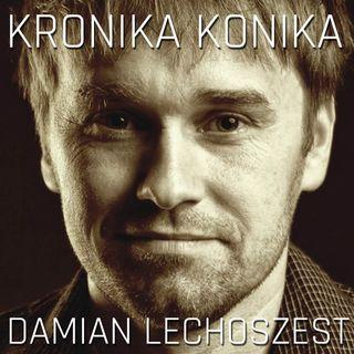 Damian Lechoszest. Sztafeta przez płotki z pędzlem w dłoni.