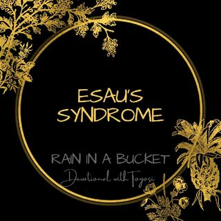 Esau's Syndrome