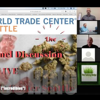 Edibles Panel LIVE at The World Trade Center Seattle (2019)