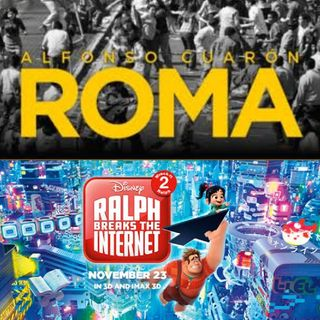 NerdFlicks Podcast No.2 Reseña / Opinión: ¡ROMA de Alfonso Cuarón & Ralph Breaks The Internet!