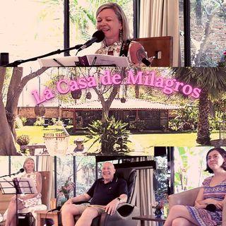 """Encuentro de UCDM en el centro de Co-living """"La Casa de Milagros"""" con David Hoffmeister y Svava Love"""