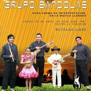 0147 PROMO ESPECIAL GRUPO BANDOLAS ABRIL 13