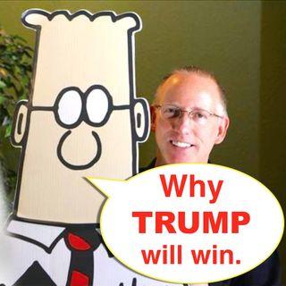 Dilbert Cartoonist Predicts Trump Will 'Win In A Landslide'