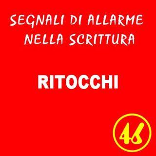 46 - Ritocchi - Segnali di allarme nella scrittura - Ursula Avè - Lallemant