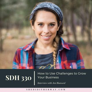 How to Use Challenges to Grow Your Business with Jen Hansard, CEO of Simple Green Smoothies