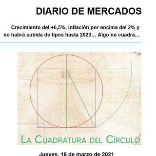 DIARIO DE MERCADOS Jueves 18 Marzo