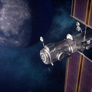 Lunar Gateway, due moduli in orbita con il Falcon Heavy
