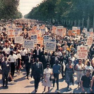 The Historic March On Washington Of Wednesday August 28th, 1963. Part Two