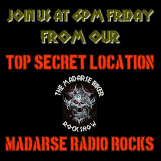 The Madarse Biker Rock Show with Samantha Ralph, Neil Black and Marc Behan