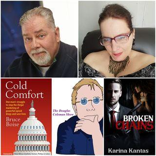 The Douglas Coleman Show w_ Bruce Boise and Karina Kantas