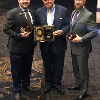 Presentation of 2018 B/CS chamber of commerce volunteer of the year