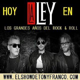 """Los Grandes Años del ROCK """"LA LEY"""" en Concierto"""