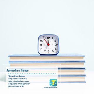 5 de abril - Aprovecha el tiempo - Una Nueva Versión de Ti 2.0 - Devocional Jóvenes