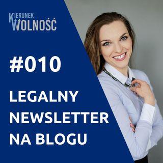 KW010: Legalny newsletter na blogu