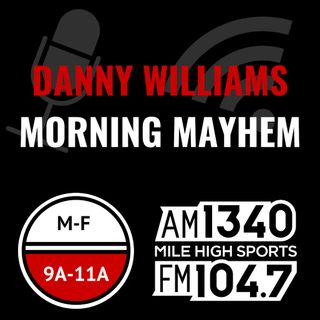 Thursday Nov 1: Hour 2 - Danny lets the West slide in NBA; How many more wins for the Broncos; DJ Durkin fired; Odell Beckham Jr. & T.O.