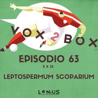 Episodio 63 (2x33) - Leptospermum scoparium