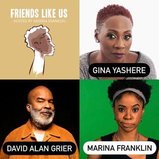 David Alan Grier And Gina Yashere Visit Friends