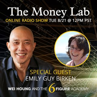 "Episode #77 - The ""Darkside of Solving Problems with Money"" Money Story with guest Emily Guy Birken"