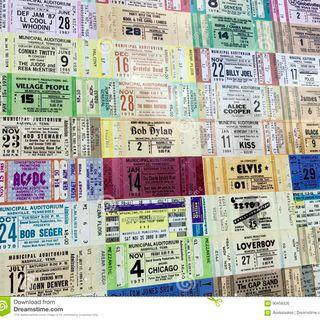 4/22/19: Concert Ticket Stub Memories w/ Pete Pardo