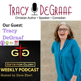 Comedian Tracy DeGraaf
