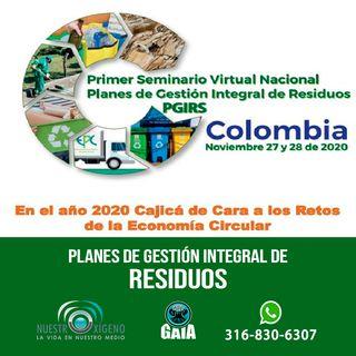 NUESTRO OXÍGENO Planes de Gestión integral de residuos - Prof. Marco Tulio Espinosa-Ing. Cesar Enrique Venegas